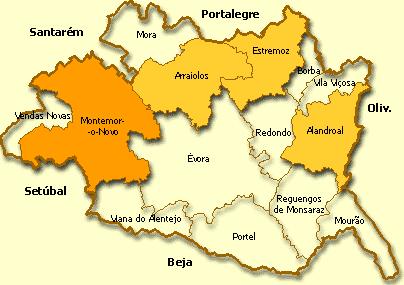 Montemor-o-Novo, distrito de Évora