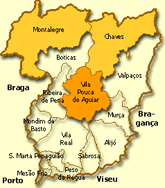 vila pouca de aguiar mapa Vila Pouca de Aguiar: Castelos